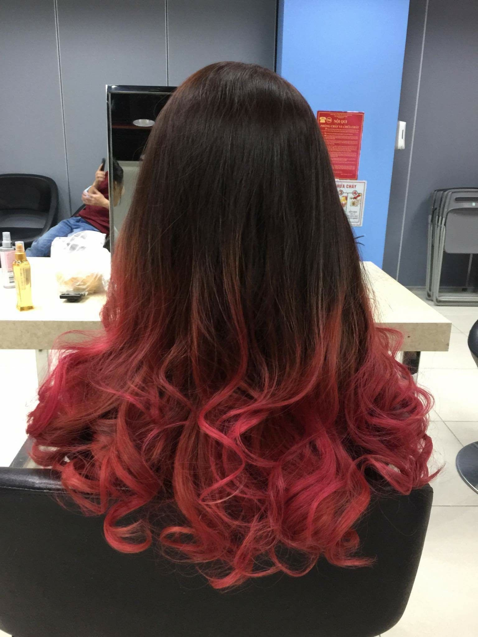 Red marenta ombre hair trends pinterest ombre hair trends and