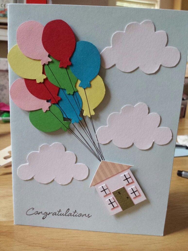 Сделать открытку с воздушными шарами, поздравления новым годом
