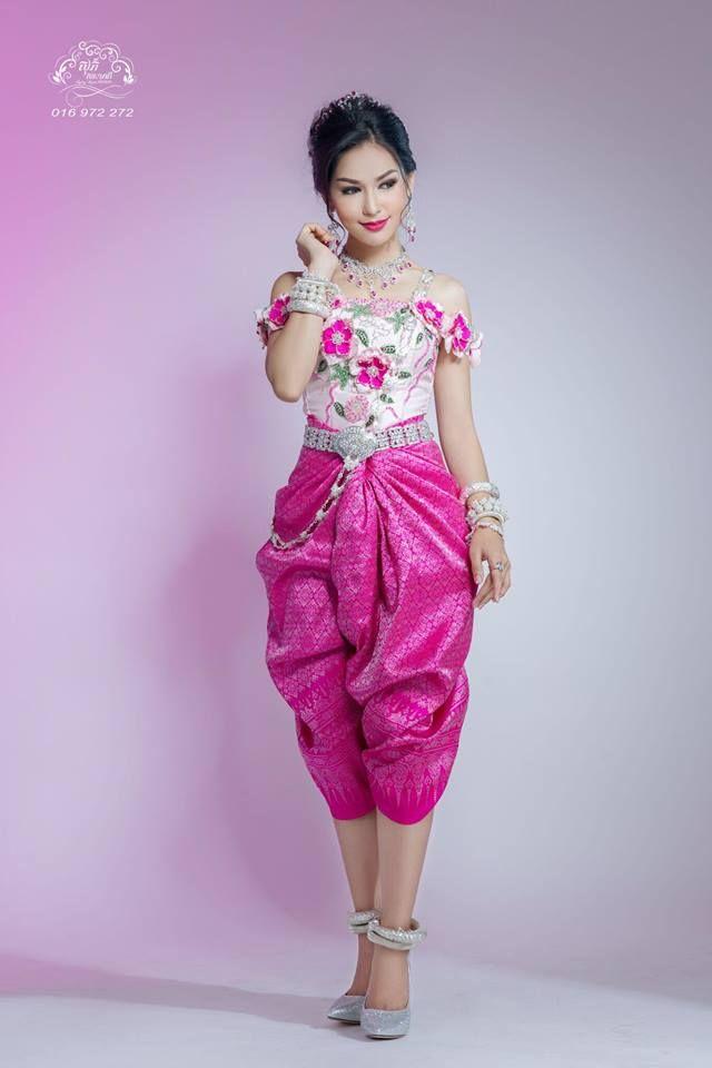khmer wedding costume   Khmer   Pinterest