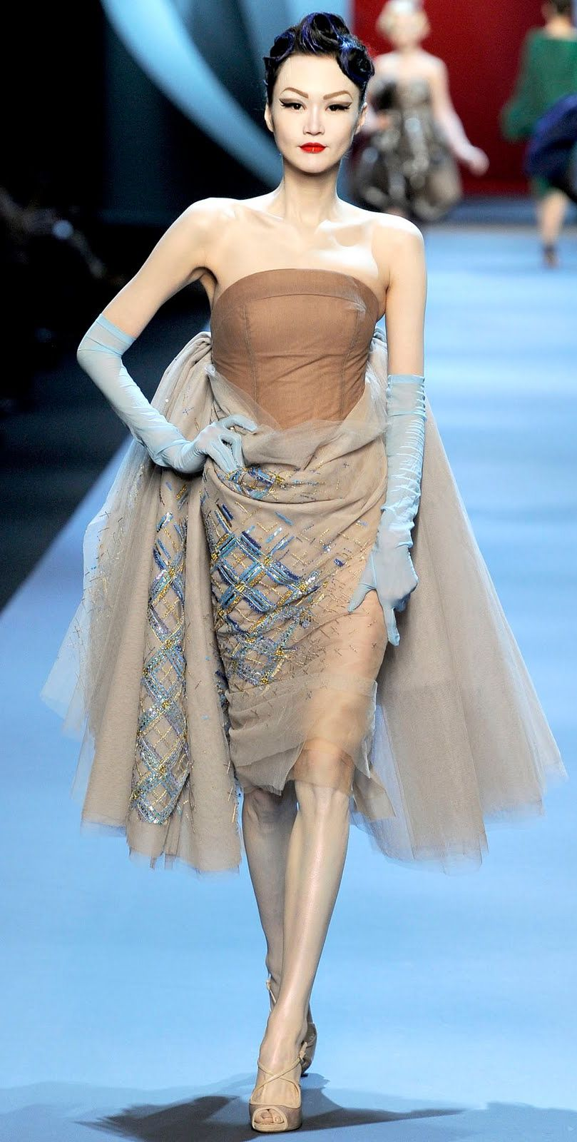 df1a6416a4 Christian Dior Haute Couture Spring Summer 2011 | Couture in 2019 ...