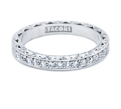 The Wedding Band That Matches My Engagement Ring Tacori Site Says It Can Range From 3300 00 600 Diamond Wedding Bands Tacori Wedding Rings Engagement Rings