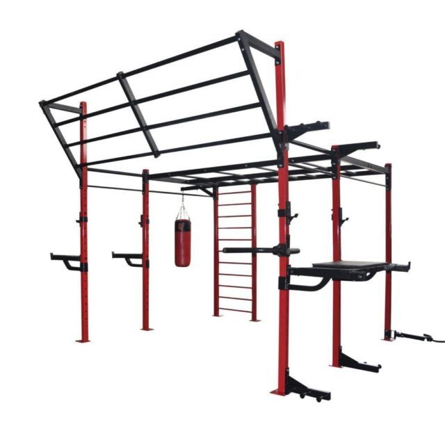 Bootcamp Training Rig Holds 10 Bags Trx Monkey Bars Nets Ropes In Londonderry County Londonderry Gumtree At Home Gym No Equipment Workout Backyard Gym