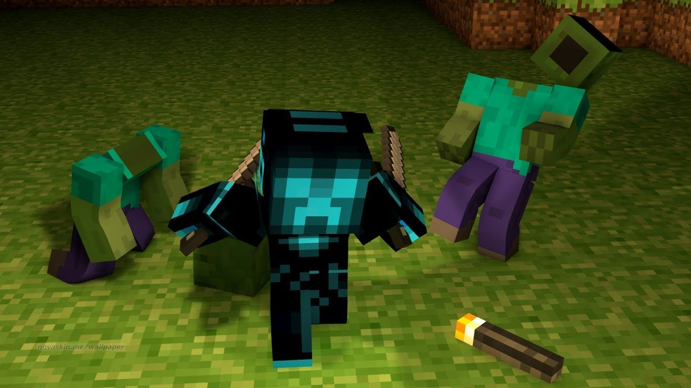 Minecraft Cool Wallpapers Group X