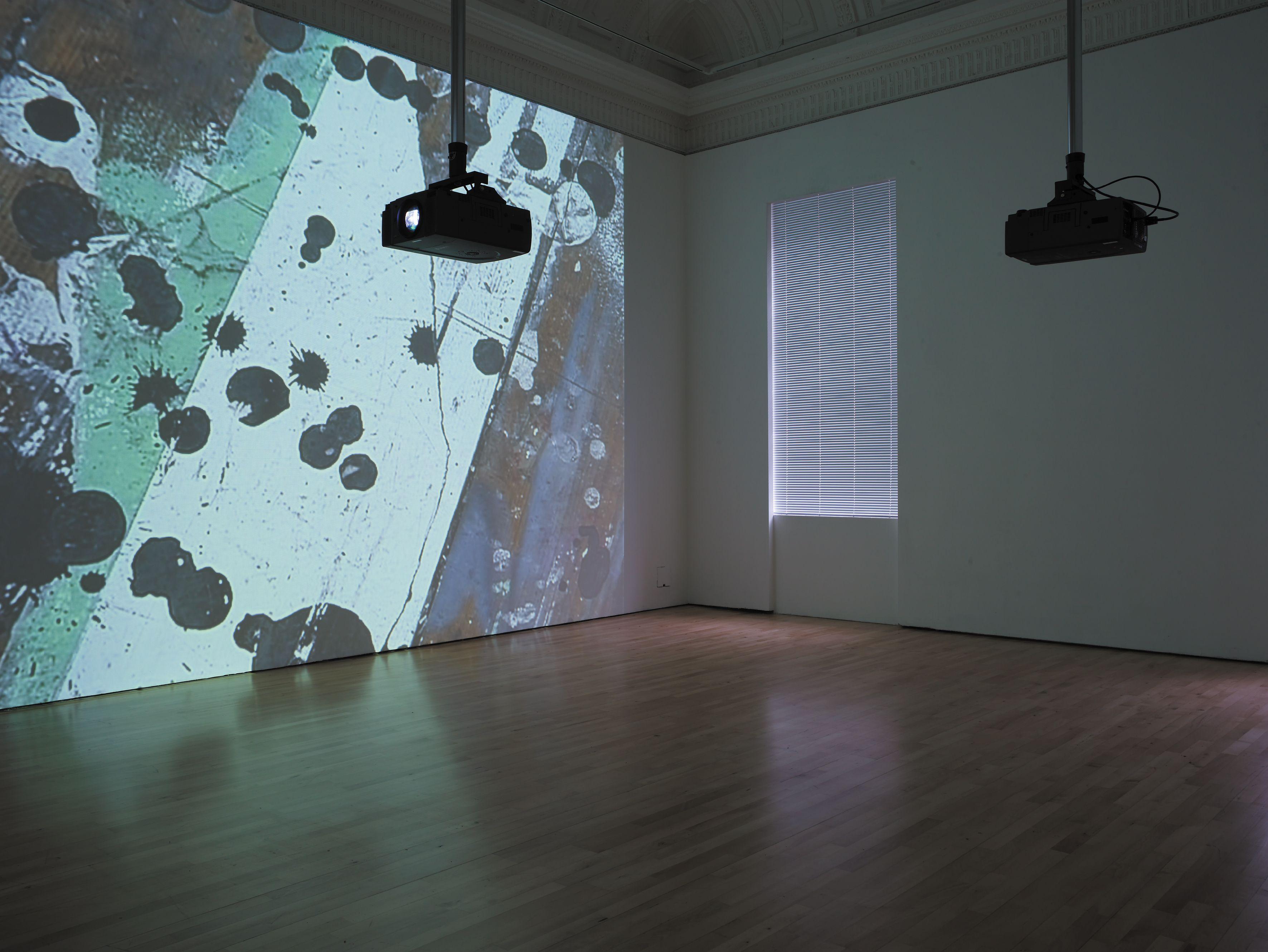 Hilary Lloyd Studio 2007 Installation Shot At The Ica 2008 Courtesy The Artist And Galerie Neu Berli Contemporary Art Daily Steve White Contemporary Art
