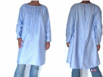 Patron robe tunique femme