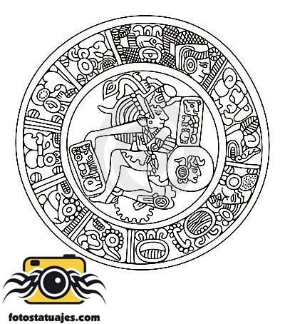 Dibujos Mayas Tattoos
