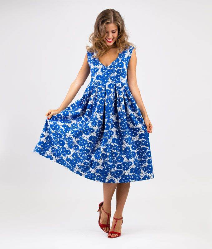 Schnittmuster und Nähanleitung Kleid Lucianda | Sewing patterns ...