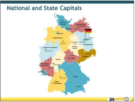 Got Business With Germany Get Editable Germany Maps For PPT - Germany map high resolution