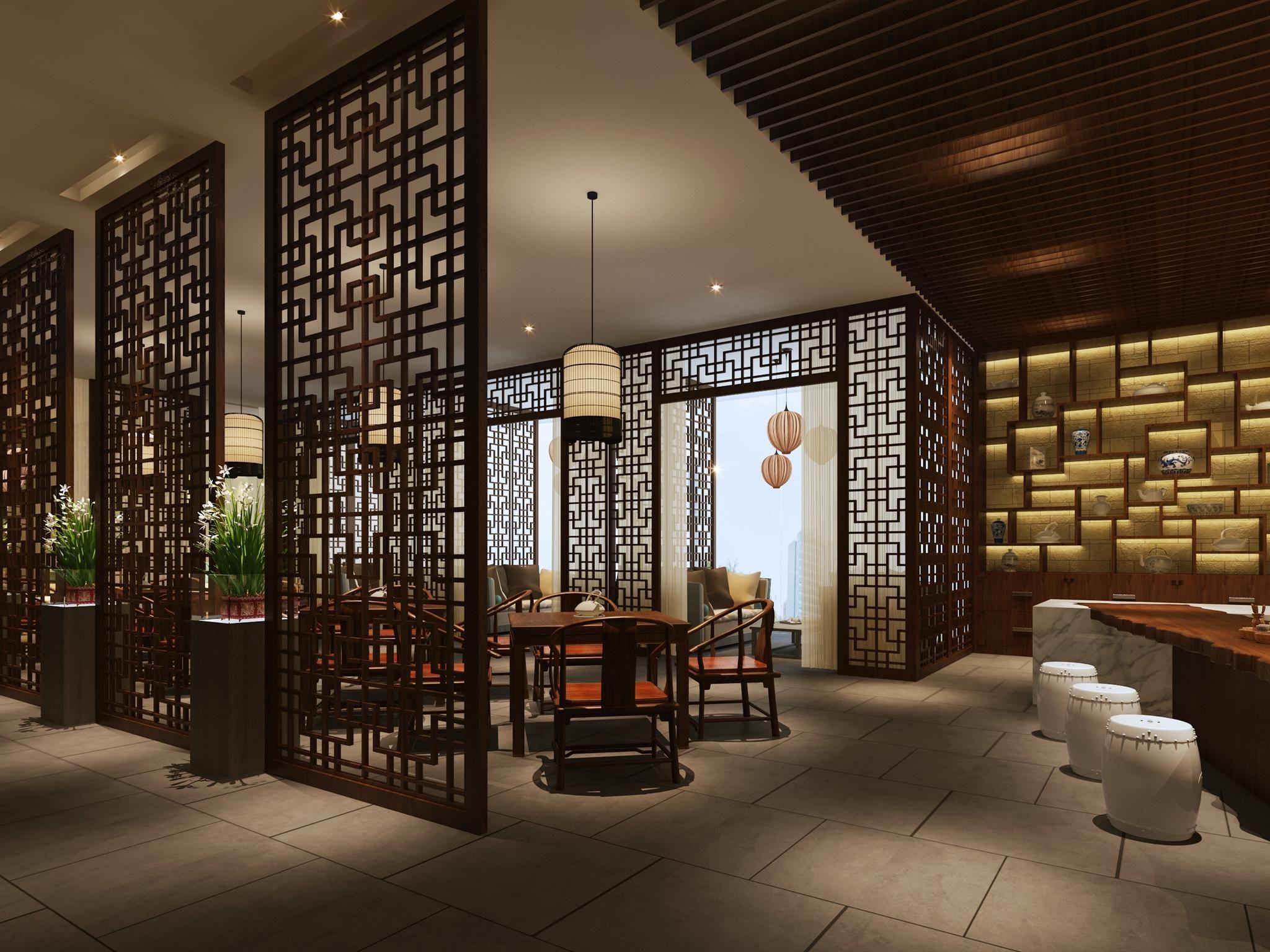 Tea House Interior Design