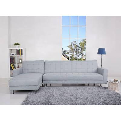 Spencer Corner Sofa Bed Pearl