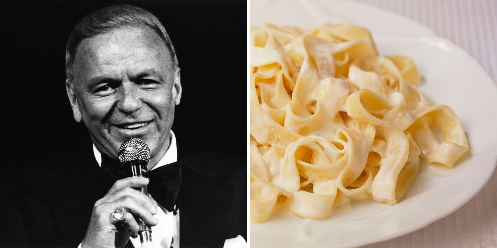 Frank Sinatra's Fettuccine Recipe Is a Perfect Dish for Pasta Lovers - TownandCountrymag.com