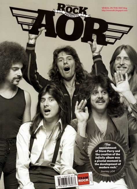 WHEEL IN THE SKY: Classic Rock Presents AOR Magazine, The Story Of