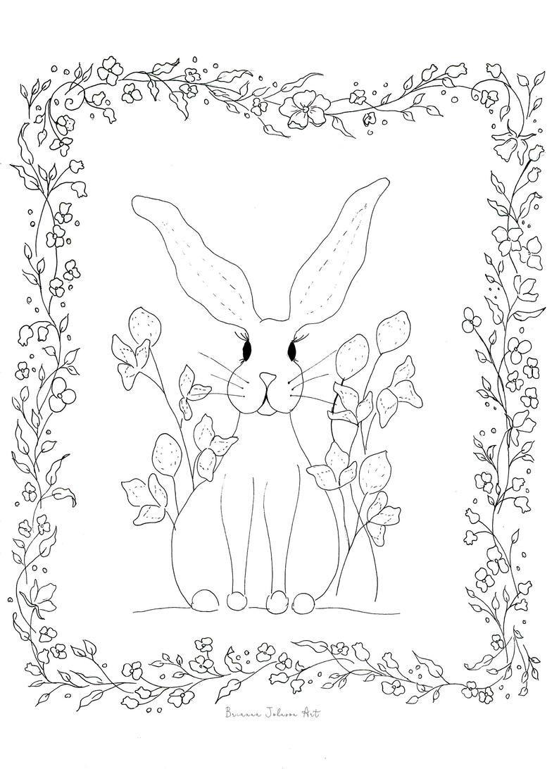 Coloring Pages Printable Coloring Page Easter Coloring Etsy Boek Bladzijden Kleuren Kinderkleurplaten Kleurboek