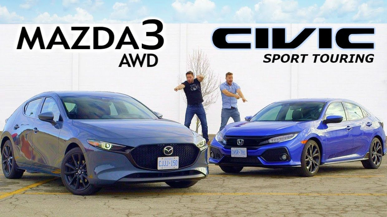 6 Wallpaper 2020 Mazda 3 Vs Honda Civic in 2020 Honda