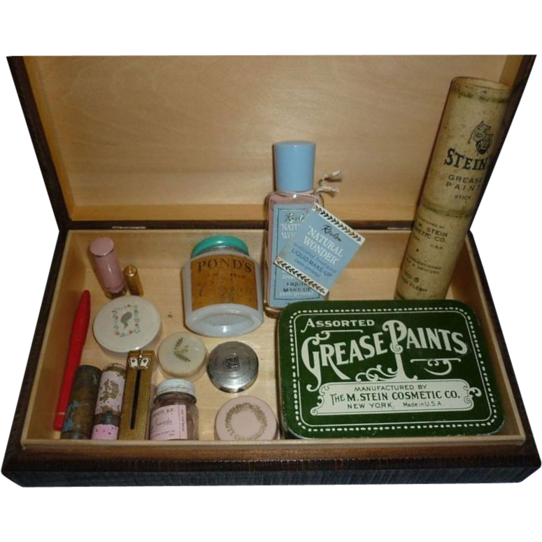 Beauty Products & MakeUp1920's 1960'sAs Found In Old