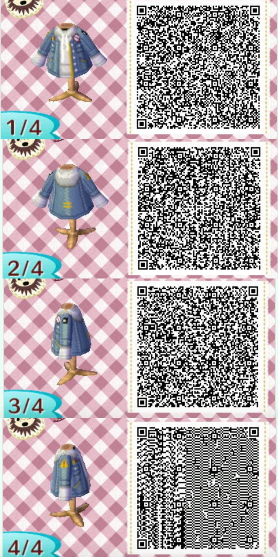Uhmanni Animal Crossing Qr Codes Clothes Animal Crossing Qr