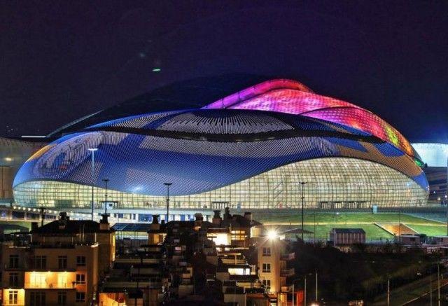 Bolshoy Ice Dome Sochi 2014 Winter Olympics