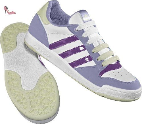 adidas Originals Midiru Court W, Baskets mode femme, Blanc/Violet/Mauve, 38 2/3 EU