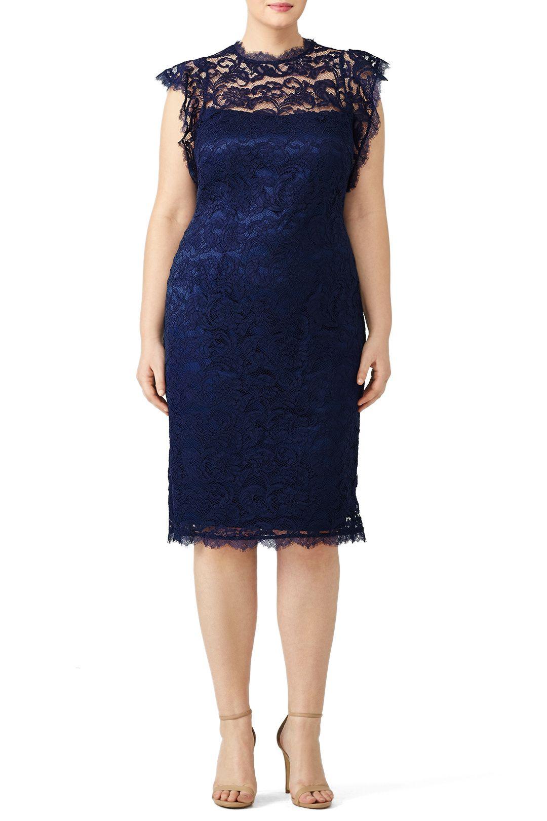 Navy lace sheath dress mawage pinterest lace sheath dress