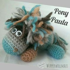 Kostenlose HäkelAnleitung Pony Paula Amigurimi Kostenlose HäkelAnleitung Pony Paula Amigurimi  Kostenlose HäkelAnleitung Pony Paula