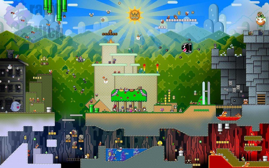 98 Game Wallpapers Animated Wallpapers For Mobile Super Mario World Wallpapers For Mobile Phones