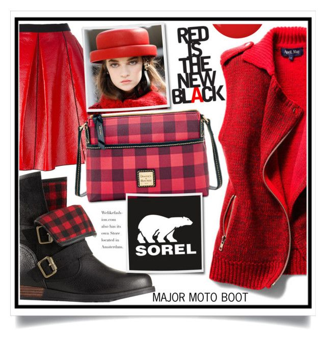 """""""Kick Up the Leaves (Stylishly) With SOREL: CONTEST ENTRY"""" by ewa-naukowicz-wojcik ❤ liked on Polyvore featuring Rebecca Minkoff, Marc Jacobs, Dooney & Bourke, SOREL, Chanel, Essie and sorelstyle"""