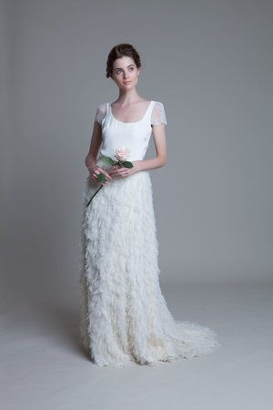 Swan Tee with lace cap sleeves and Swan Skirt by Halfpenny London ...
