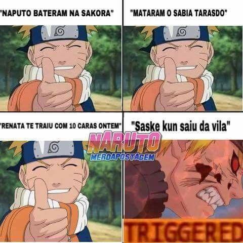 Uma Prova De Amor Memes Engracados Naruto Piadas De Naruto Naruto