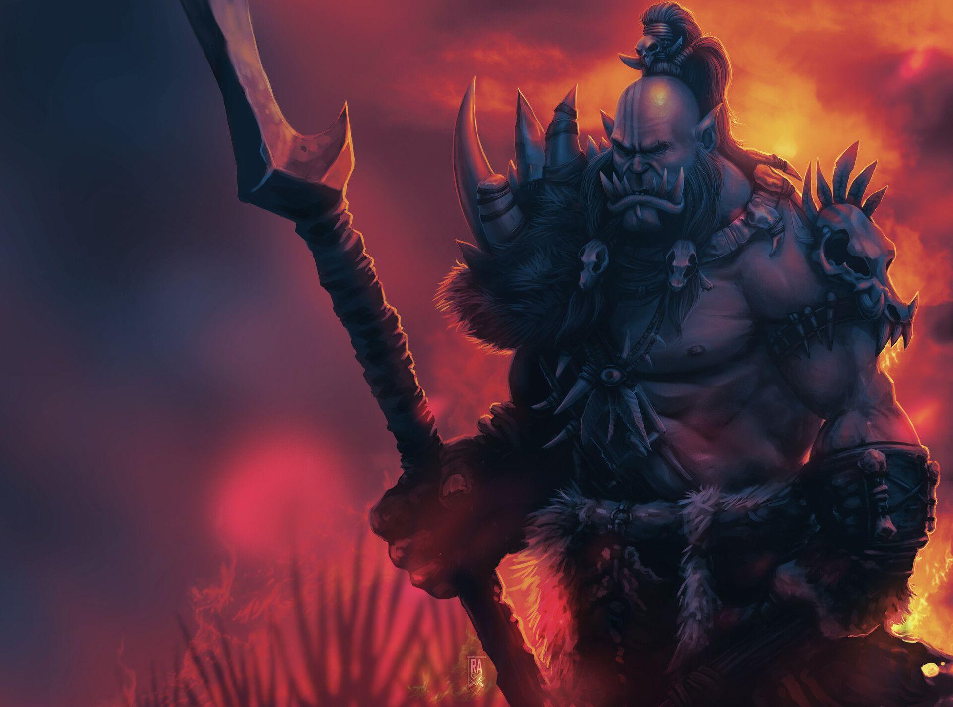 Videogame World Of Warcraft Warcraft World Of Warcraft Warrior