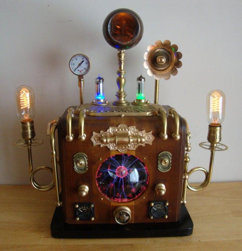 Pin On Steampunk Lamp