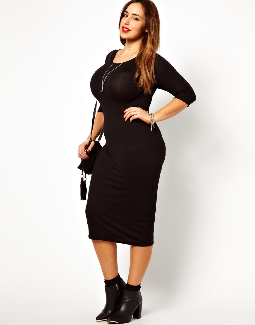 e3ad7c01211 Plus Size Midi Dress