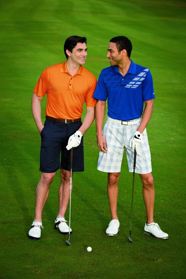 cargo shorts golf course