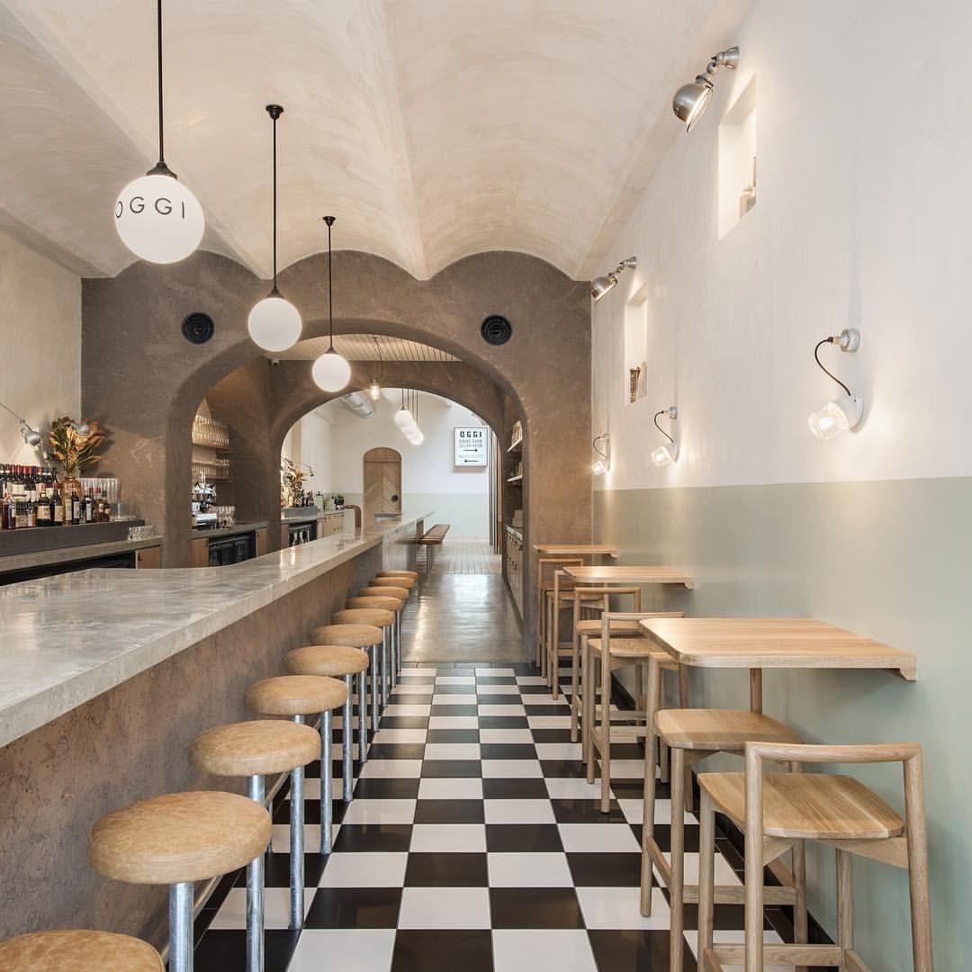 A little Osteria Oggi for your Friday morning ➖ @studio_gram 〰 #architecture #interior #design #Adelaide #Australia @osteria_oggi 📷: @david_sievers_photography