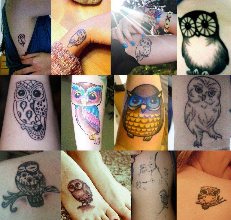 Tattoo de Buho♥