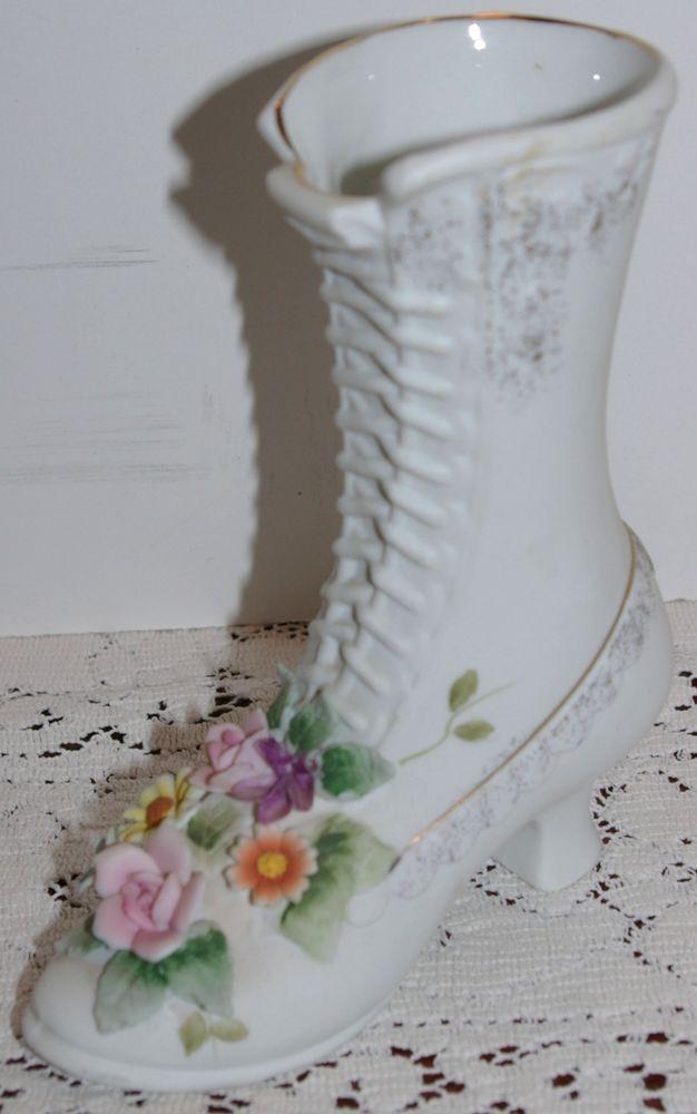 Louboutin Bridal Shoe Ceramic Centerpieces