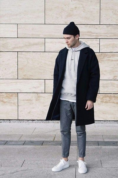 s 39 habiller en hiver homme look sportswear chic avec un. Black Bedroom Furniture Sets. Home Design Ideas