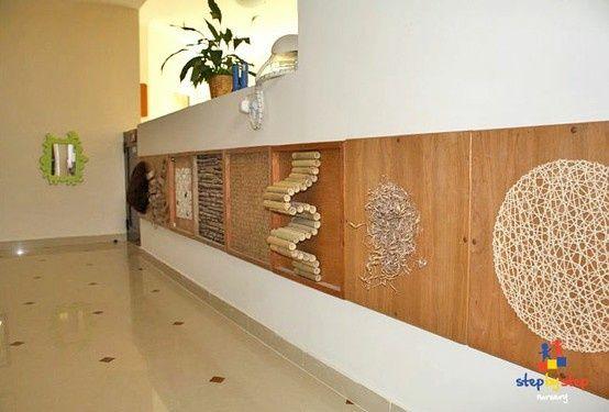 Sensorische Stimulation Sinne Fühlen Wanddekoration Kita