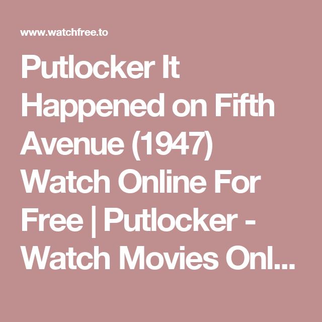 christmas vacation putlocker it happened on fifth avenue 1947 watch online for free putlocker - Christmas Vacation Online Free