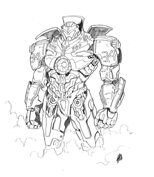 Gipsy Danger by Jason Heichel | Pacific Rim | Pinterest | Gipsy ...