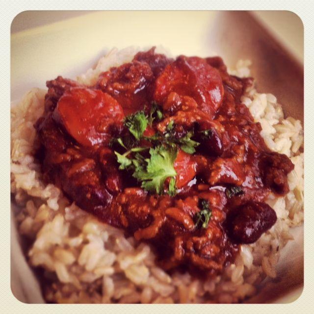 Lauran Tähti: Chili con carne