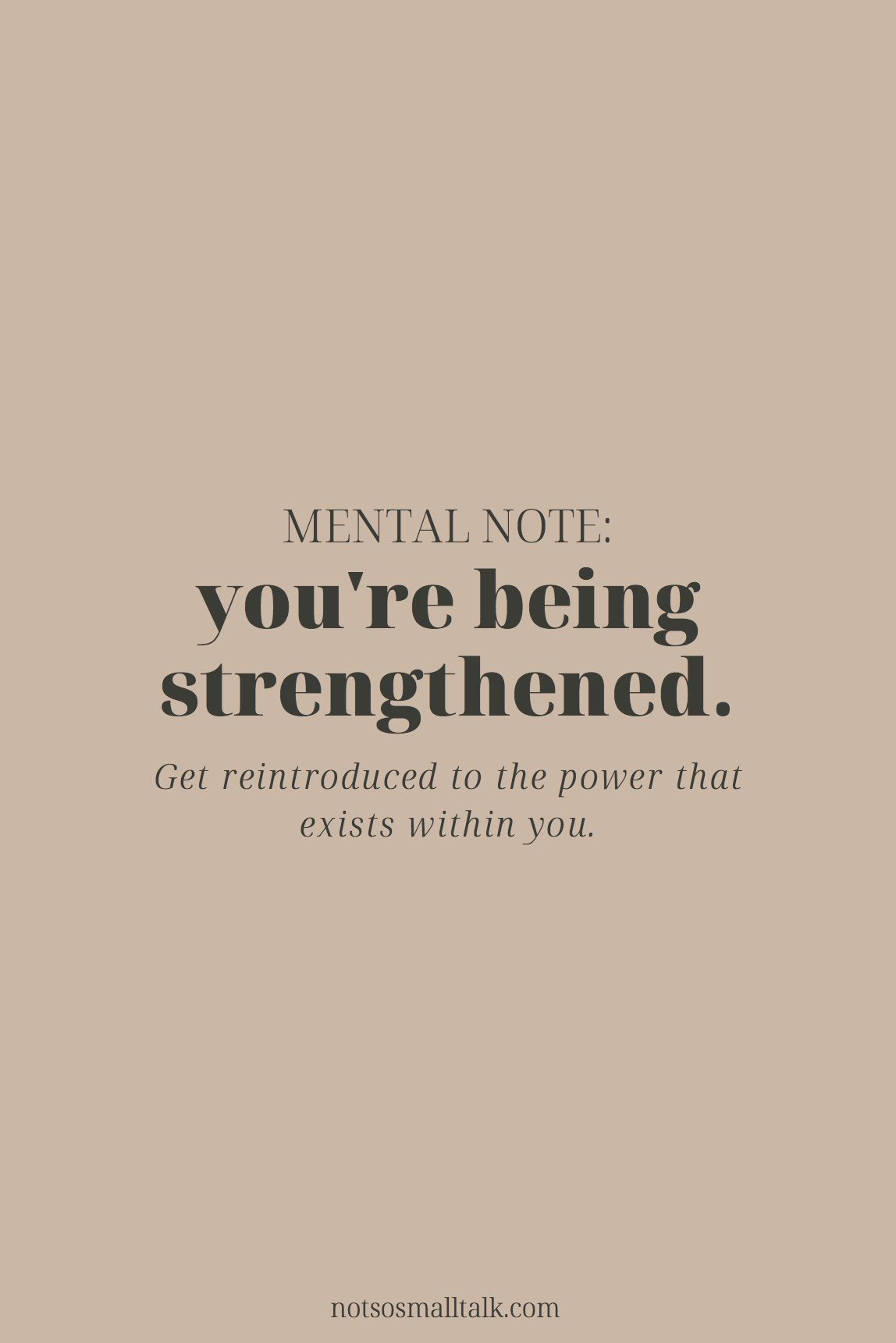 You Re Getting Stronger In 2020 Positive Self Affirmations Live Better Quotes Self Love Affirmations