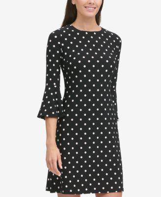 23+ Bell sleeve polka dot dress trends