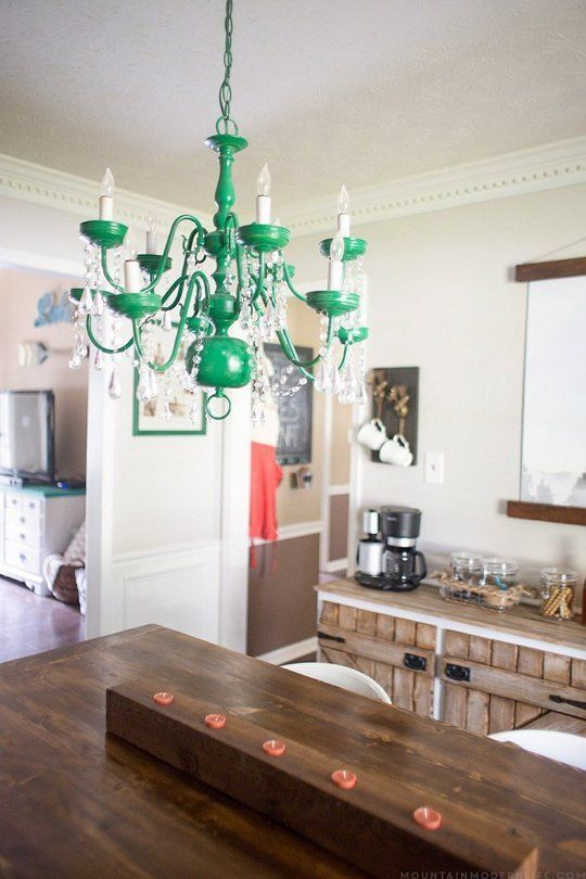 3 ways to instantly change the look of a chandelier