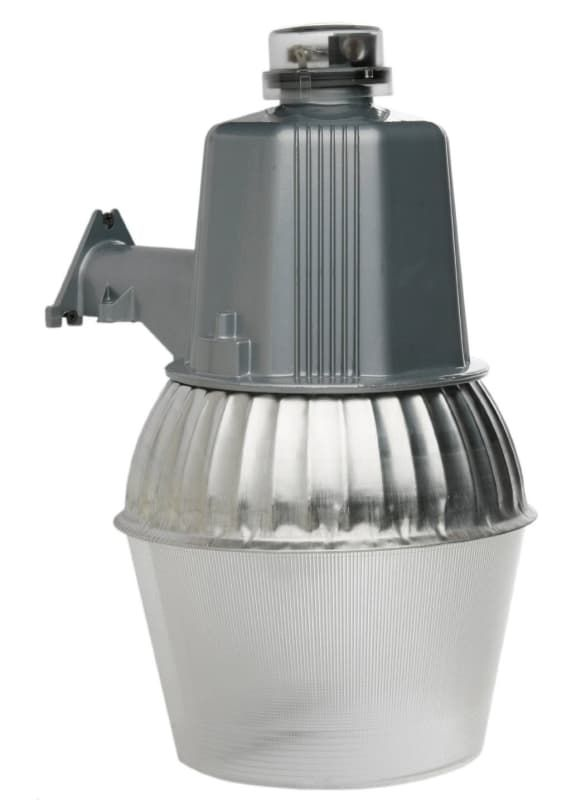 Designers Edge L1730 14 Tall Single Light Outdoor Security With Dusk To D Grey Commercial Lighting Wall Lights Utility