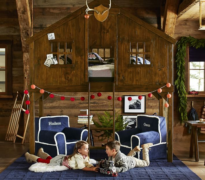 Treehouse Loft Bed Treehouse Loft Bed Kid Beds House Beds For Kids