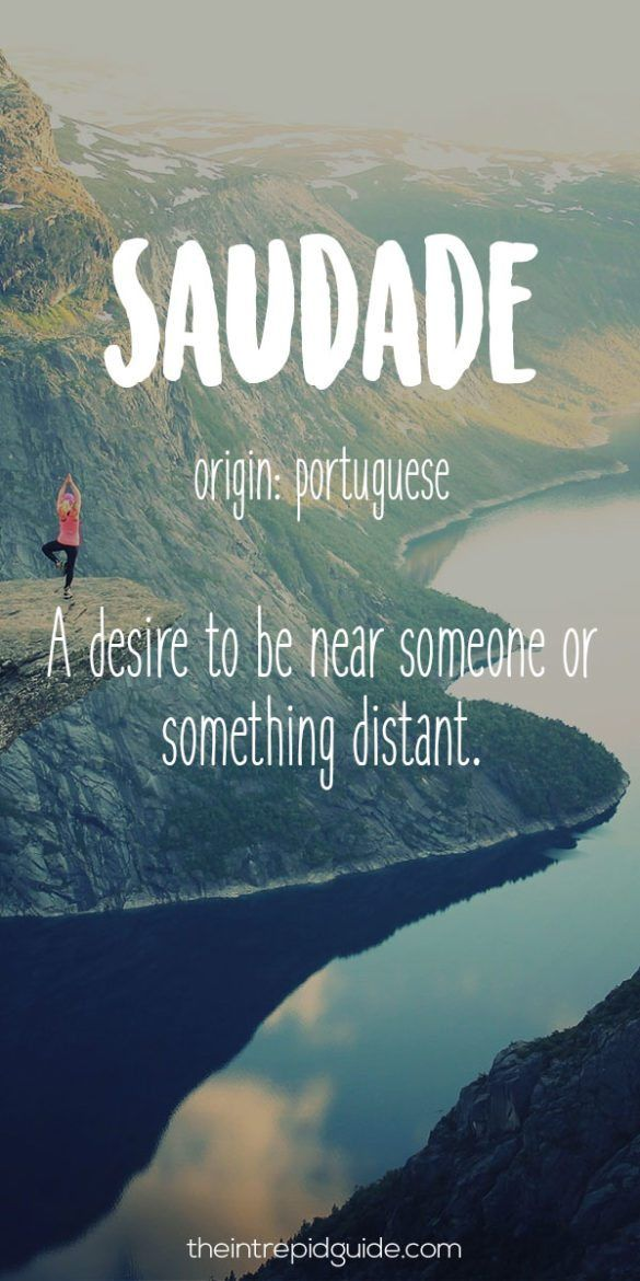 28 Beautiful Travel Words That Describe Wanderlust Perfectly Portuguese Words Weird Words Travel Words