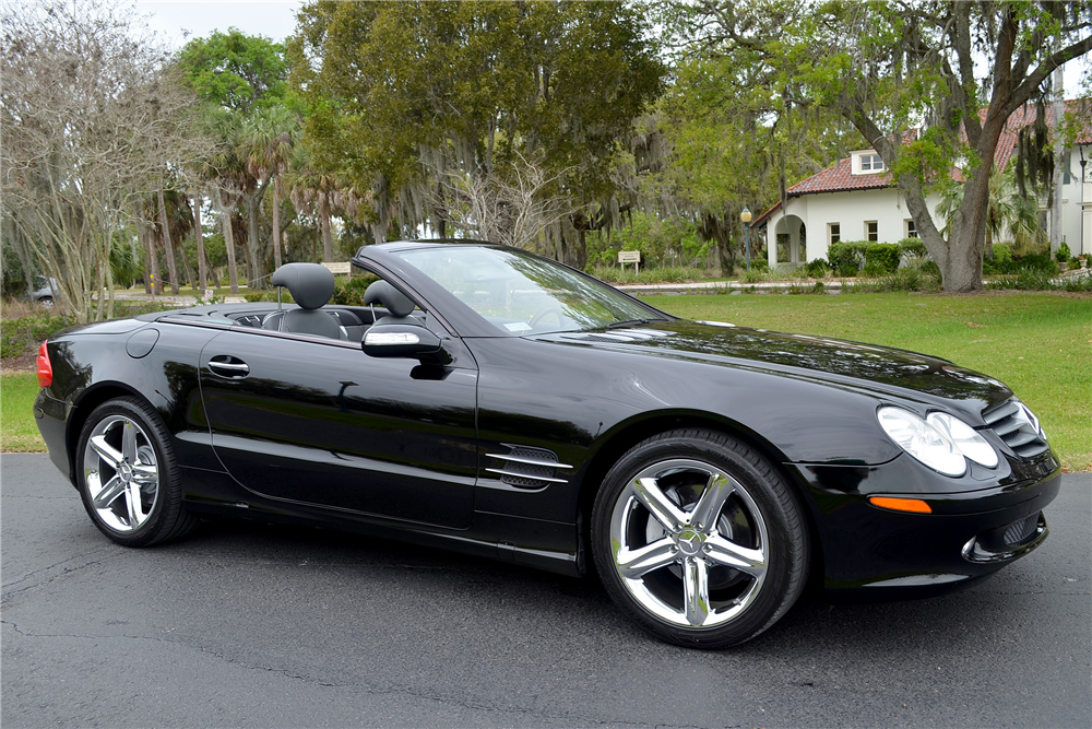 2006 Mercedes Benz Sl500 Convertible 194928 Barrett