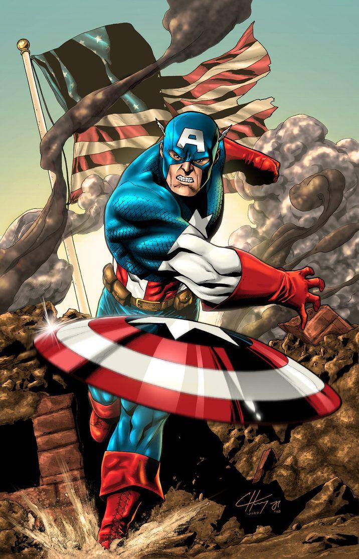 #Captain #America #Fan #Art. (Cap Attack) By: Wordmongerer. (THE * 5 * STÅR * ÅWARD * OF: * AW YEAH, IT'S MAJOR ÅWESOMENESS!!!™) [THANK U 4 PINNING!!<·><]<©>ÅÅÅ+(OB4E)