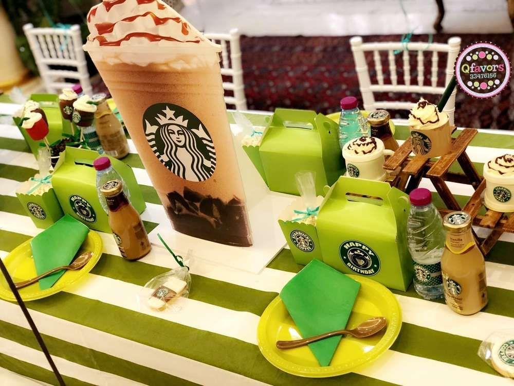 Starbucks Birthday Party Ideas Starbucks birthday party