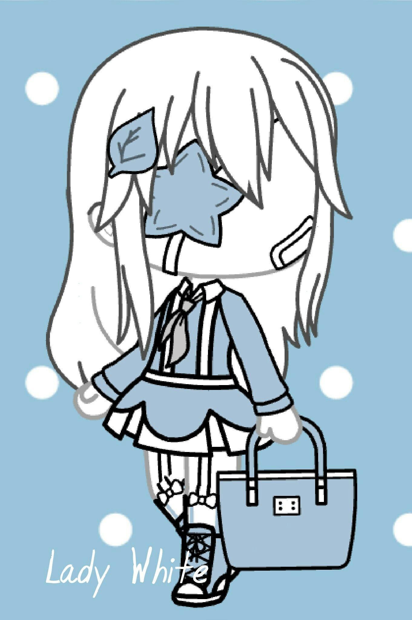 Épinglé par Gōsuto ゴースト sur Gacha life Dessin, Anime